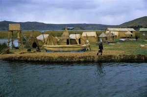 Uros Reed Islands, Lake Titicaca